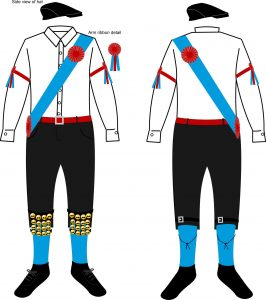 Taylor's men kit design